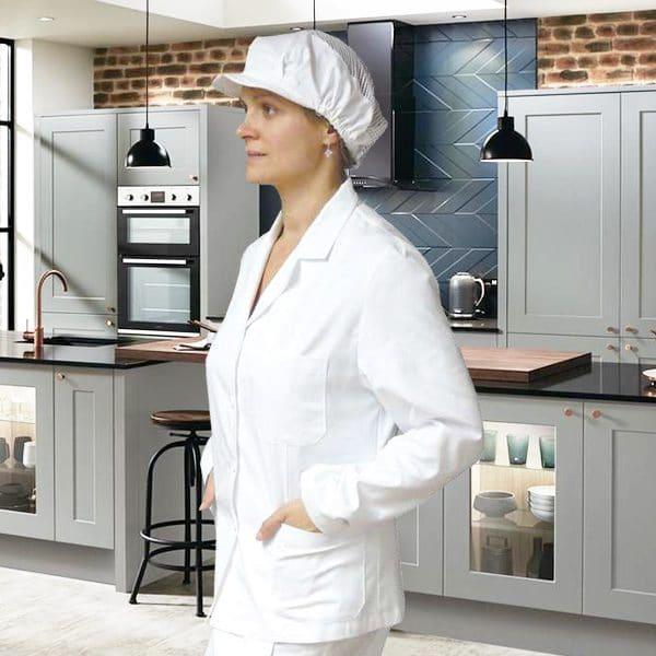 Bluza-otvorena-kragna-kuharska
