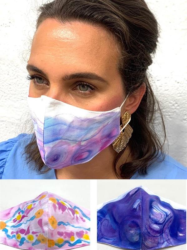 ručno oslikana maska