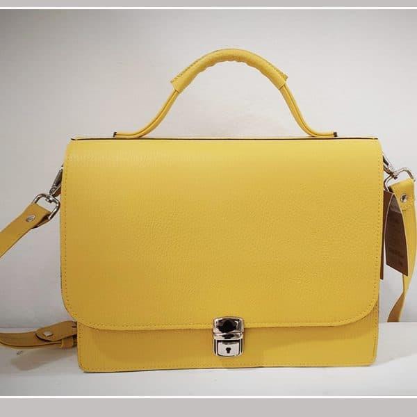 žuta ženska torba